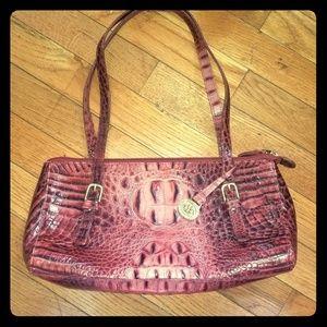Brahmin Red Leather Bag